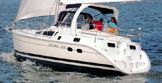 1999 Hunter Passage 420