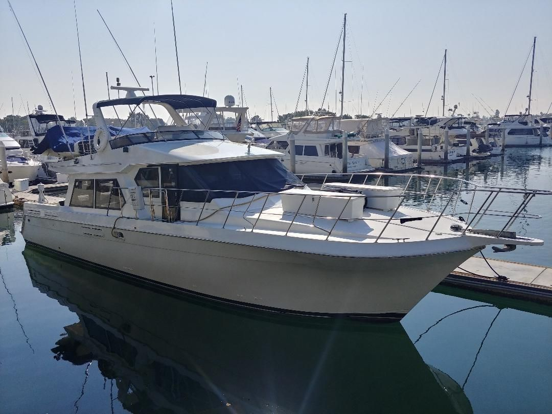 1998 Navigator 56 Power Boat For Sale Www Yachtworld Com