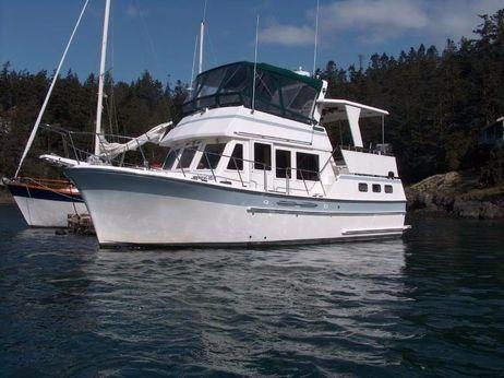 1986 Ponderosa 35 Aft Cabin Trawler