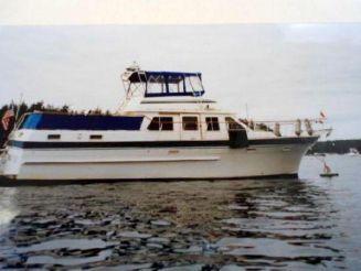 1982 King 40' Motoryacht