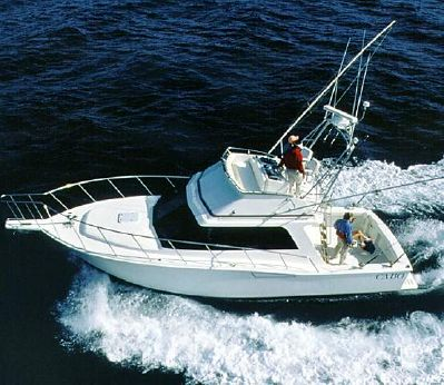 1998 Cabo Yachts 35 Flybridge Sportfisher