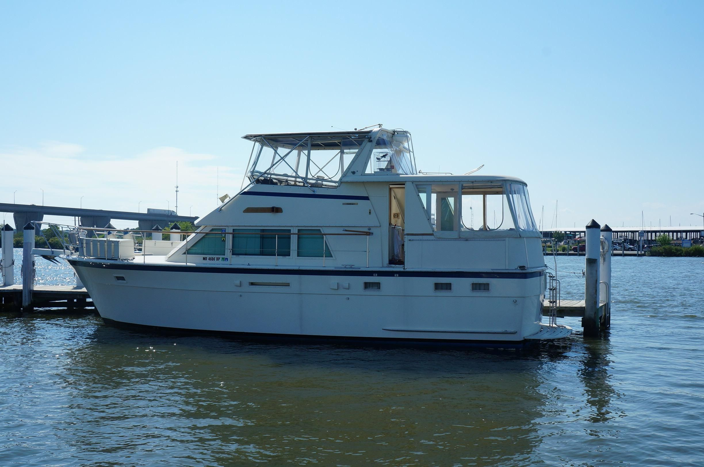 1986 hatteras motor yacht power new and used boats for sale for Hatteras motor yacht for sale