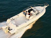 1995 Aquasport 225 Explorer Outboard & Aluminum Trailer