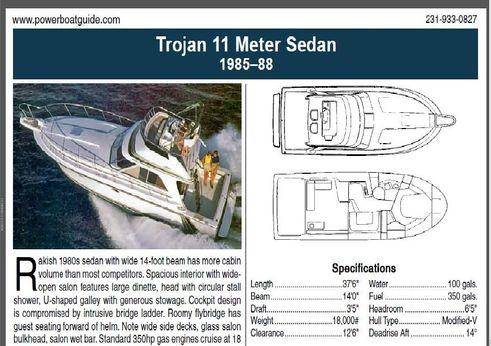 1988 Trojan 11 Meter Sportfish