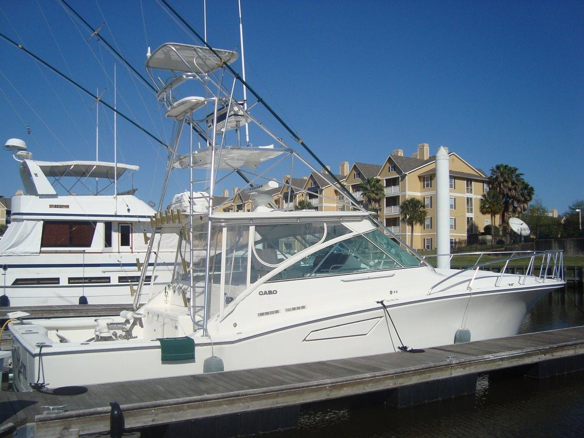 1998 Cabo 45 Express Fish Power Boat For Sale Www