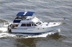 1986 Island Gypsy Motor Cruiser Sedan Trawler