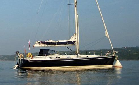 2001 Starlight 46 - deep fin