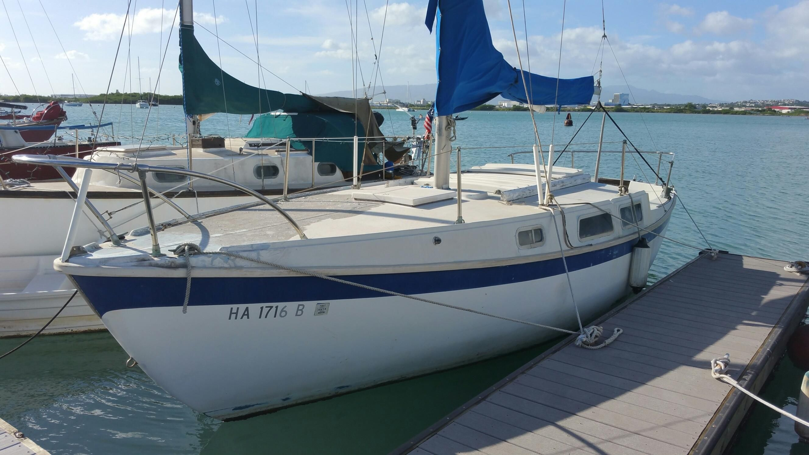 1967 CAL Sloop Sail Boat For Sale - www.yachtworld.com