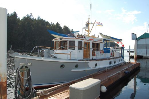 1956 Star Shipyard Custom Anglican Mission Yacht