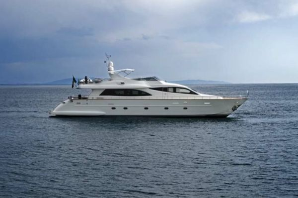 used 90' Falcon yacht