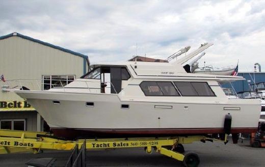 1986 West Bay Pilothouse 4500