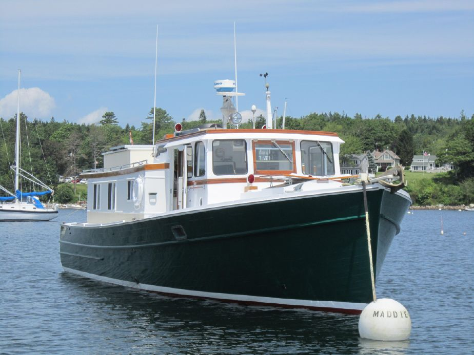 . 1968 PENBO Trawler Yacht Power Boat For Sale   www yachtworld com
