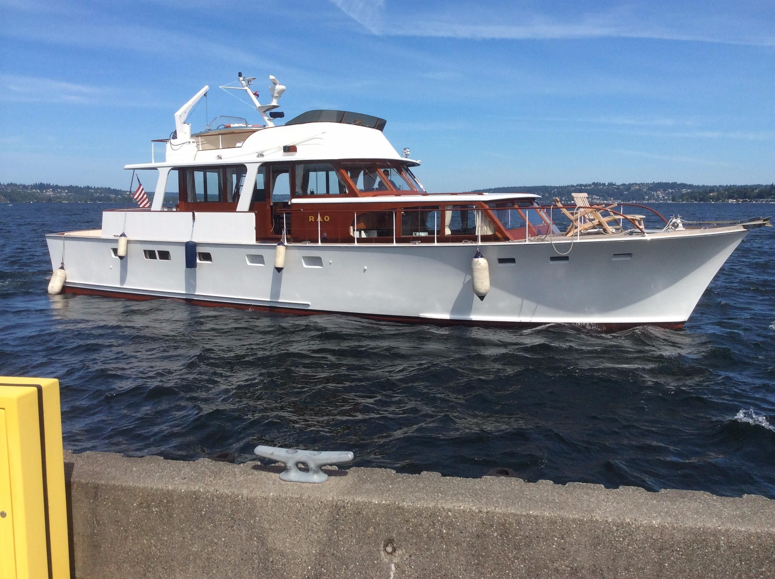 1968 monk osborne 62 motoryacht power new and used boats for Klakring motor co annapolis