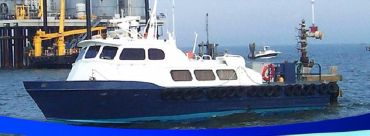 1979 Breaux Bay Crew Boat - USCG Certified 6 Passengers