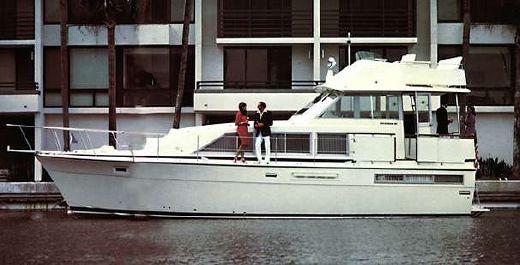 1986 Bertram 42 Flybridge Motor Yacht