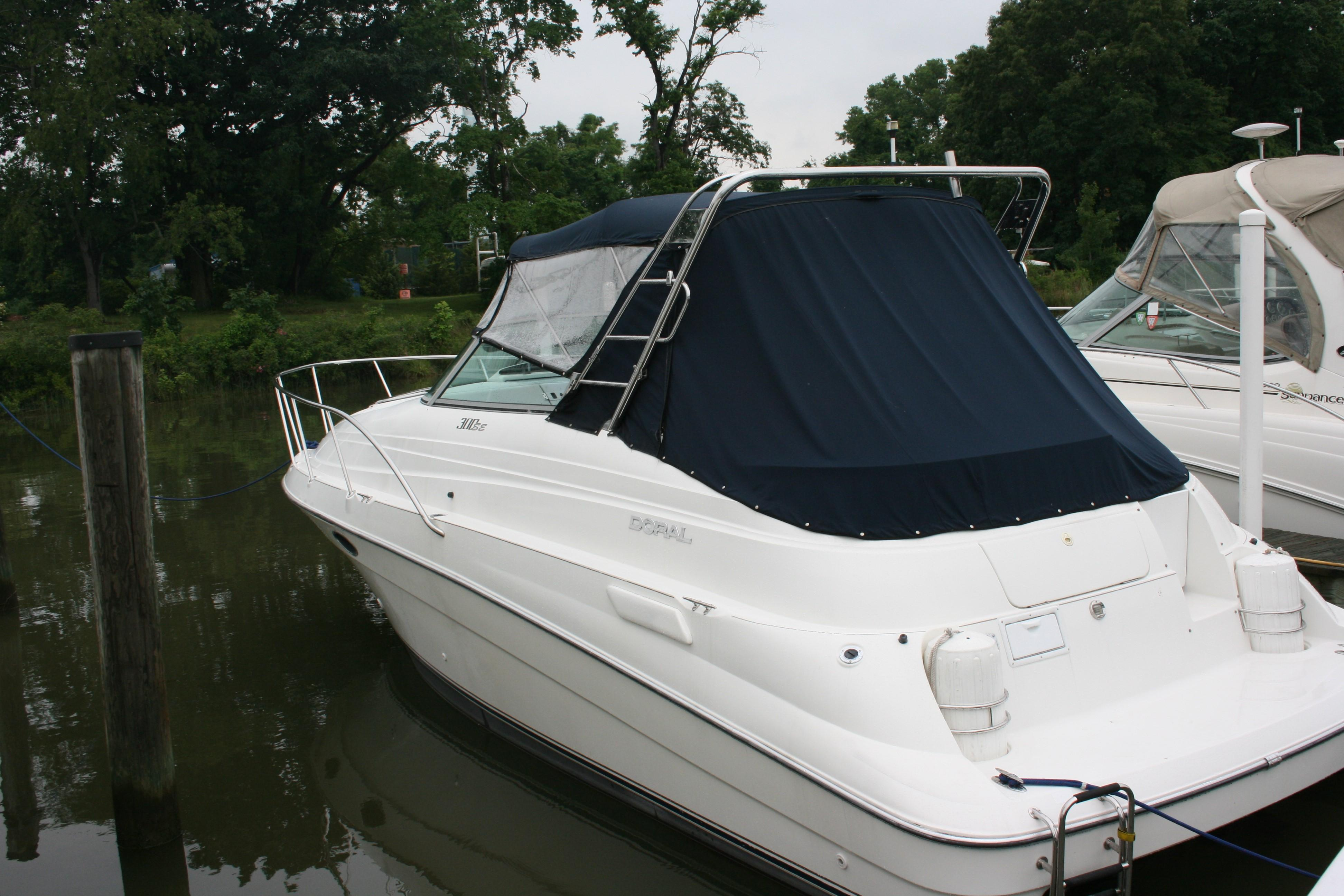 1996 Doral 300 Express Cruiser Power New And Used Boats