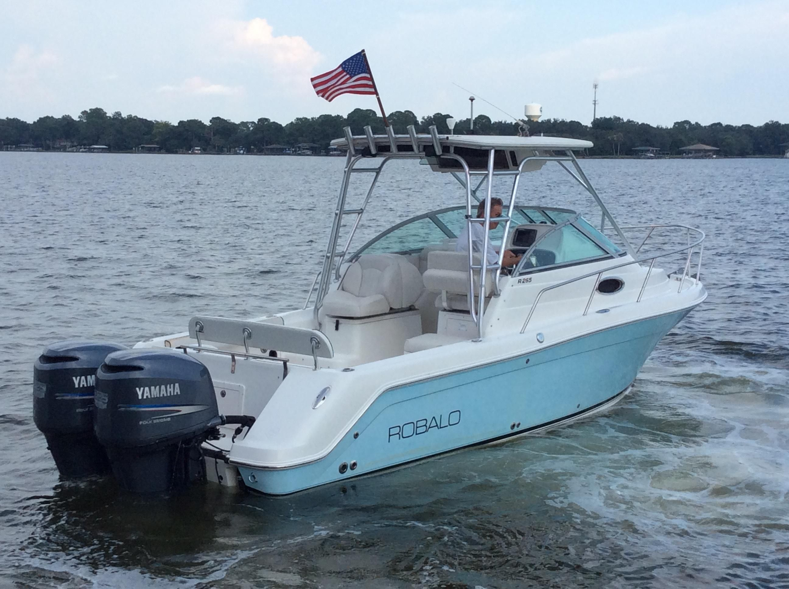 2005 robalo 265 power boat for sale for Robalo fish in english