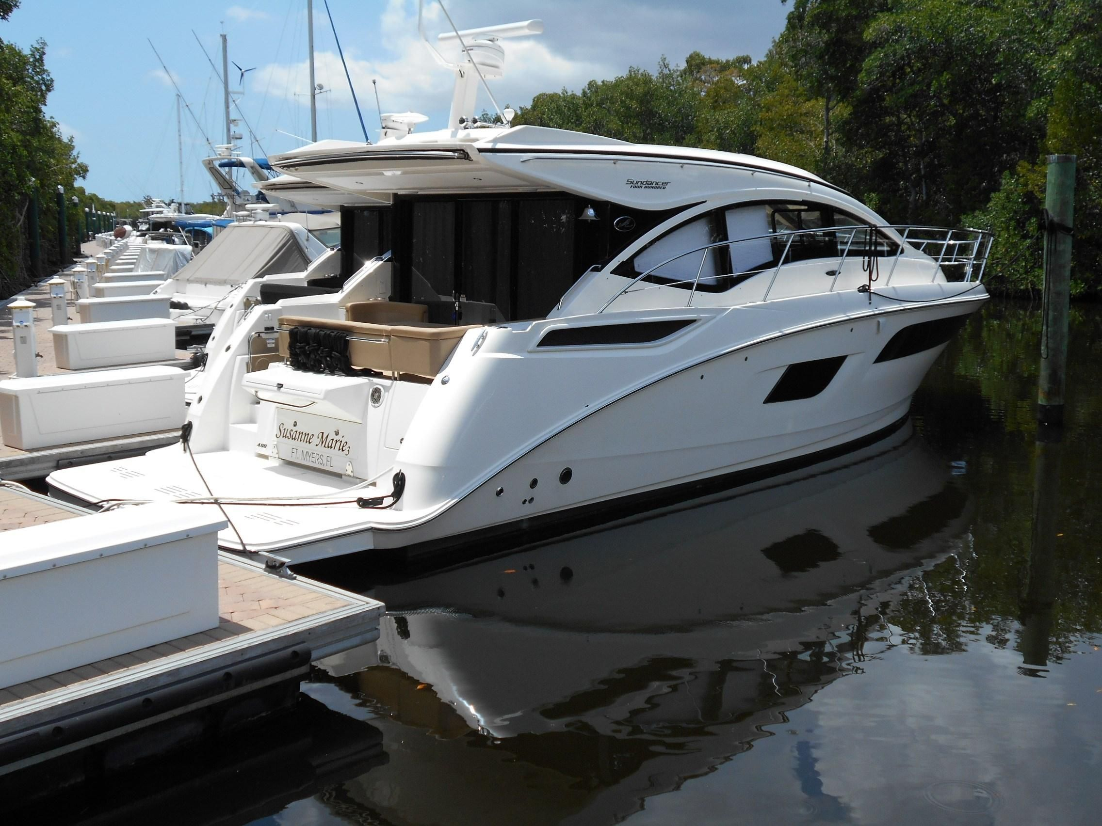2016 sea ray 40 sundancer power boat for sale www for Sea ray motor yacht for sale