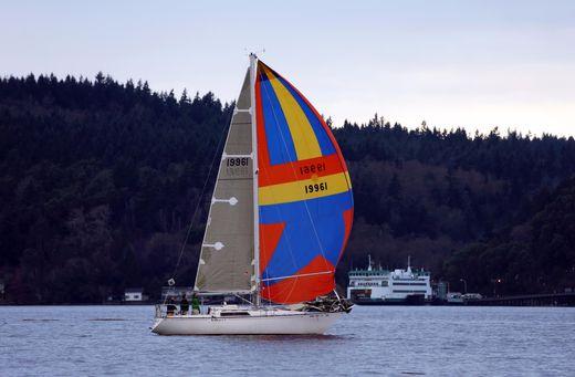 1975 C&C Fiberglass Sloop Sailboat