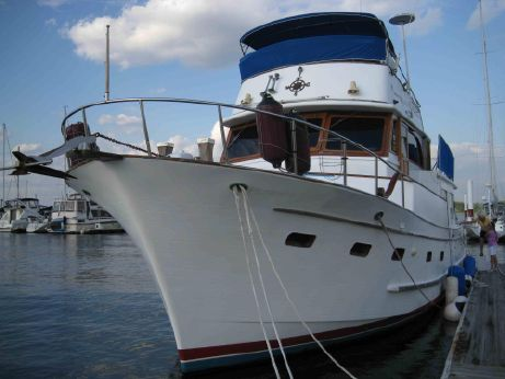 1983 Marine Trader Widebody Pilothouse Trawler