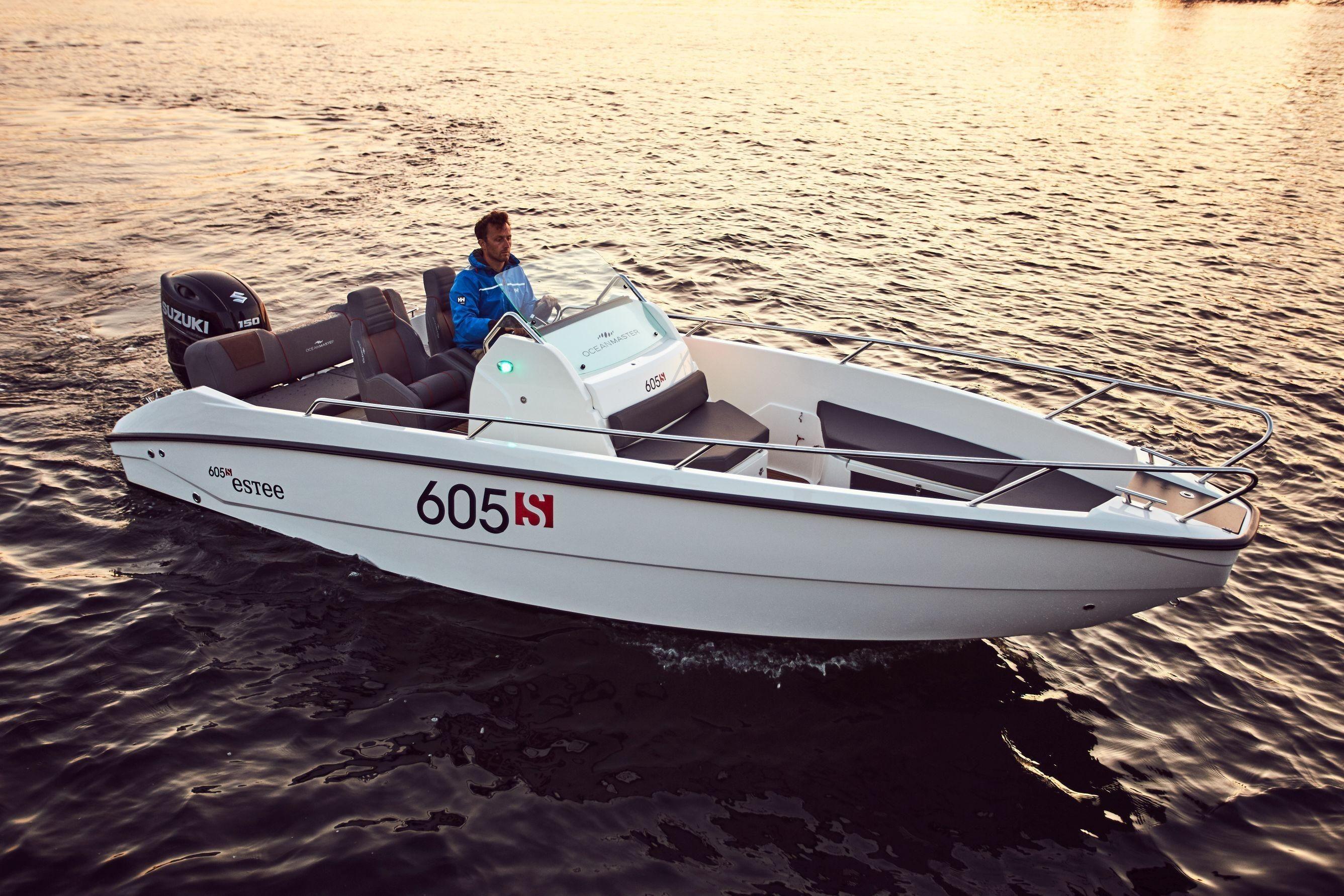 2019 Ocean Master Oceanmaster 605 Sport Power Boat For