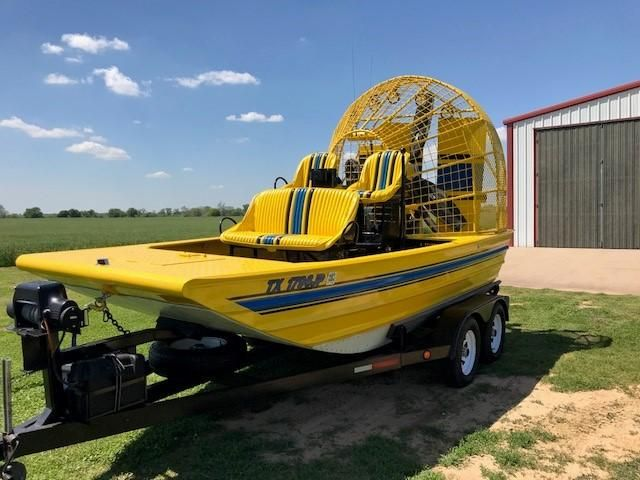 2001 Custom 16 ft Airboat Power New and Used Boats for Sale