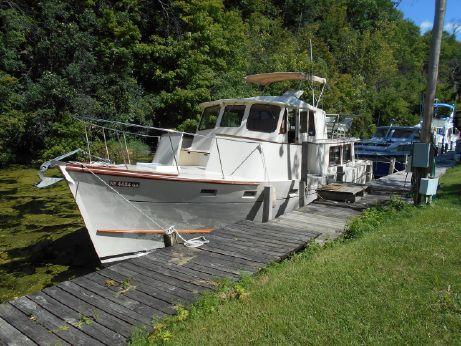 1973 Wilcox / Portland Boat Works 40 Pilot House/ Trawler
