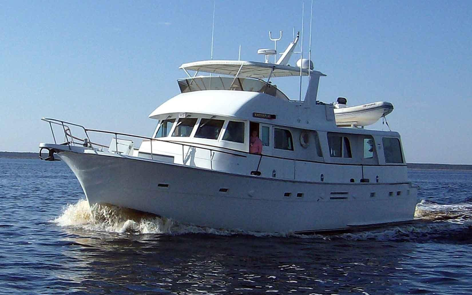 1975 Hatteras 58 Lrc Power Boat For Sale