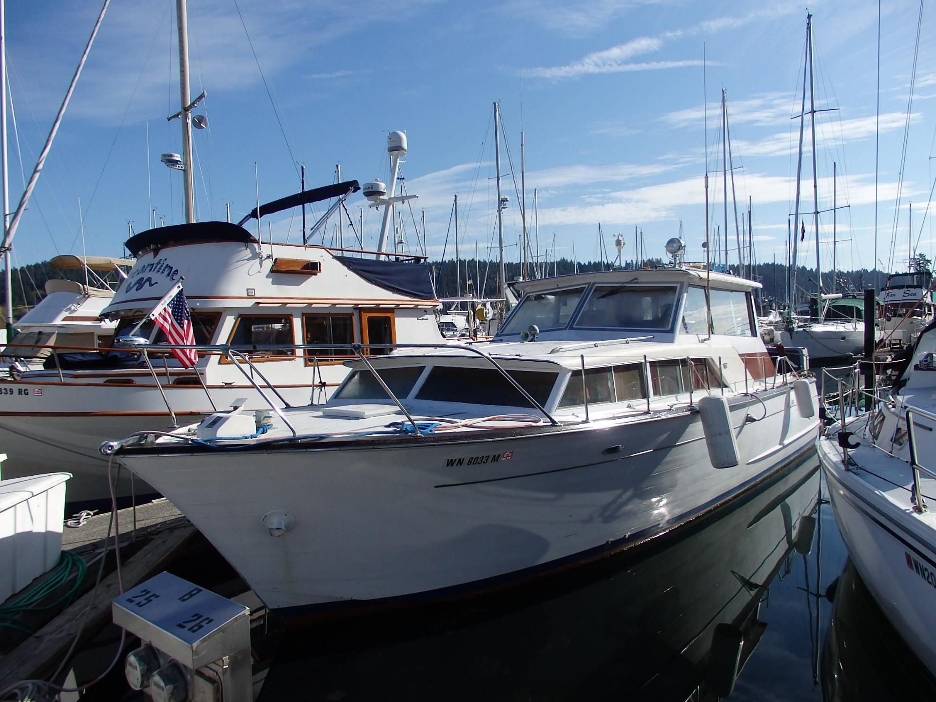 1964 Chris Craft Constellation Power Boat For Sale Www