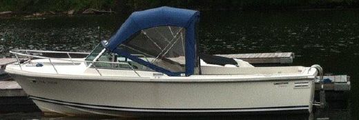 1997 Limestone 22 Runabout with Trailer