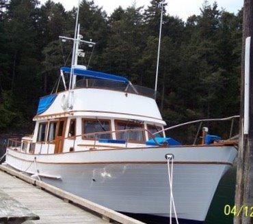 1977 Puget Trawler Aft Cabin