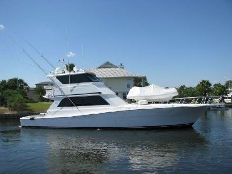 1999 Viking Yachts Enclosed Bridge Convertible