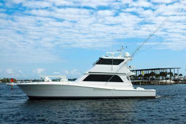 1999 Viking Yachts Enclosed Bridge Convertible