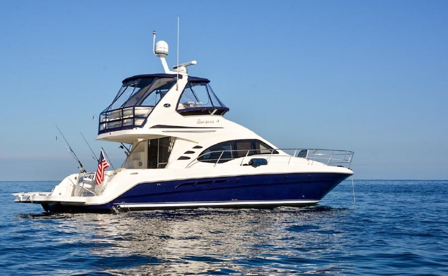 Sea Ray 44 Sedan Bridge Yacht for sale in Newport Beach
