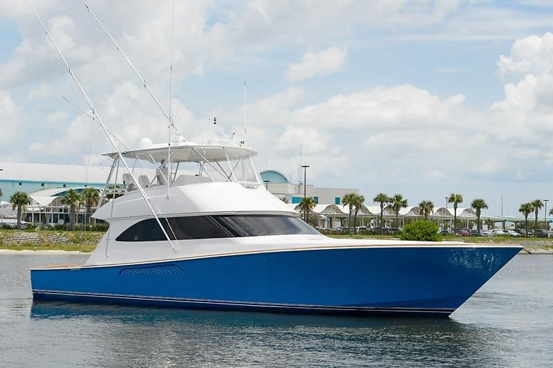 2008 Viking 60 Convertible Power Boat For Sale Www