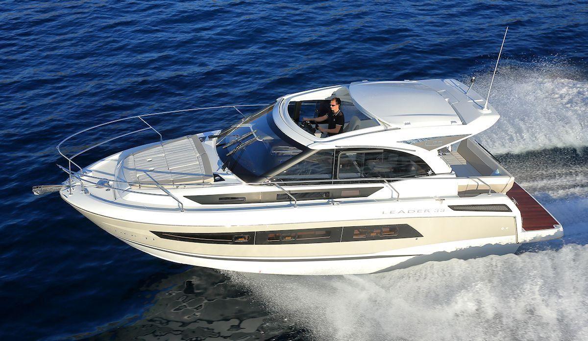 2017 Jeanneau Leader 33 Power Boat For Sale Www