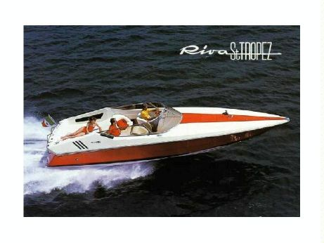 1989 Riva 350 Red St. Tropez