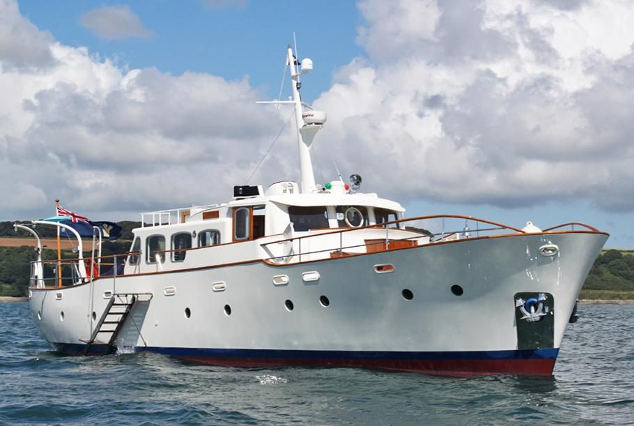 1963 fred parker ts gentleman 39 s motor yacht power boat for for Motors for boats for sale
