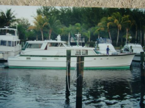 1964 Burger Pilot House Motor Yacht