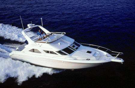 1997 Sea Ray 440 Express Bridge