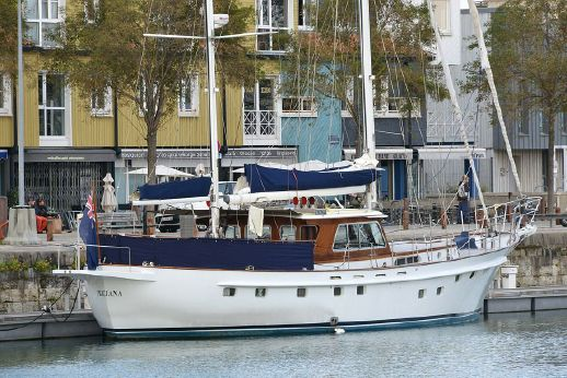 1979 Porsius 65' Ketch Motorsailer Trawler