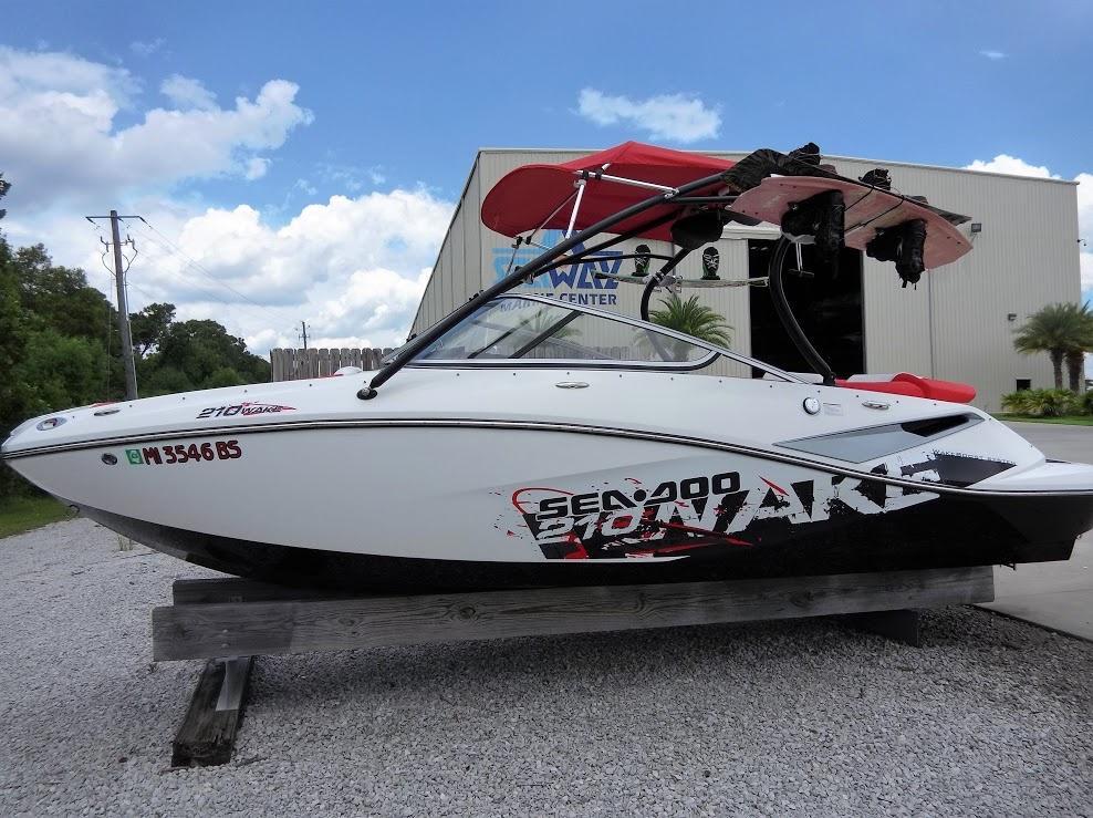 2010 Sea Doo 210 Wake Sport Power Boat For Sale Www