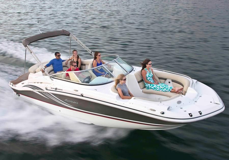 2014 hurricane sundeck 2400 io power boat for sale www for Hurricane sundeck for sale