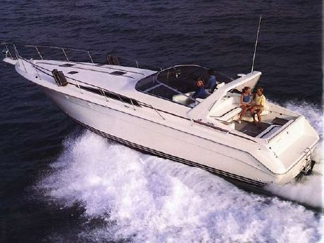 1991 Sea Ray 420 Sundancer FULL