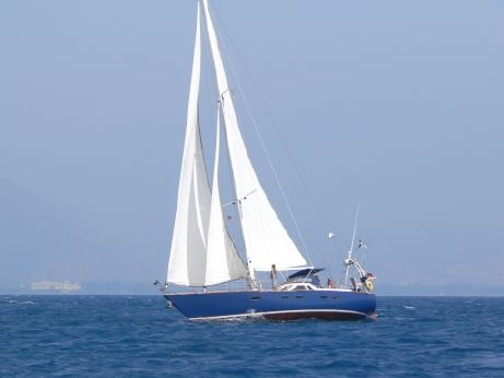 1994 15m Cutter-Rigged Sloop Custom Steel Yacht