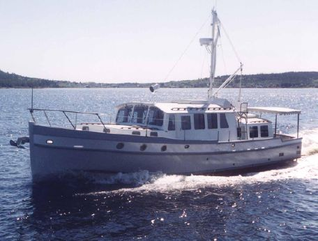 2001 Covey Island Boat Works Shoal Draft Cruiser