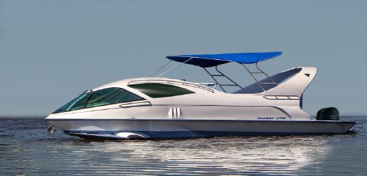 2017 Paritetboat Glass Bottom Boat LOOKER 370