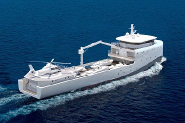 2019 Rmk Marine Yacht Support Vessel 62