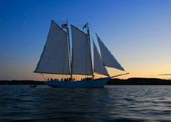 photo of  93' Fiberglass Schooner Certified for 100 passengers, 36 overnight