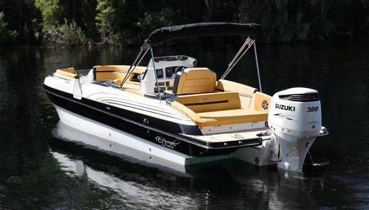 2016 Eternal Boats 28 Catamaran Deck Boat